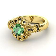 Emeralds and Black Diamonds