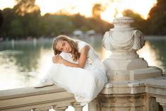 fotografo de Comunion   El estudio de Blanca – fotografo de boda Girls Dresses, Flower Girl Dresses, Madrid, Wedding Dresses, Flowers, Fashion, Baby Photographer, Natural Looks, Dresses Of Girls