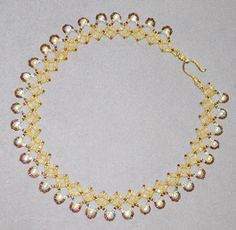 A free beading project that works up so fast you'll be rocking this necklace the next day! Make the Renaissance Diamond Chain Collar