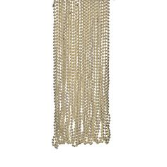 Gold Bead Necklaces - OrientalTrading.com - $8.50 for 48.  Could be very fun!