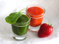 Detox verde à mesa