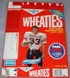Who ate all the Wheaties out of it? Chris was our water boy at Timken High in the :-) His dad, Sonny, was our coach. Buckeyes Football, Ohio State Buckeyes, Massillon Ohio, Hometown Heroes, Apps, High School Football, Breakfast Of Champions, Ohio State University, Tough Guy