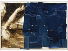 indigoalison: Mike and Doug Starn  One of their most distinctive practices is patching fragments of printed photographs together with Scotch tape. The tape will yellow over time and stain the prints, so the work will continue to change as it ages—which is exactly what the Starns want