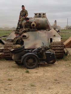 A German Panther Ausf A