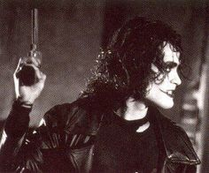 """""""I`ve done other films with violence in them, but I must say I`ve never done anything where I felt the violence was as justified as it is in this…This is justice."""" -Brandon Lee about The Crow Brandon Lee, Bruce Lee, Crow Movie, Movie Tv, Manado, Crow Images, Crow Pictures, The Crow, Crow Art"""