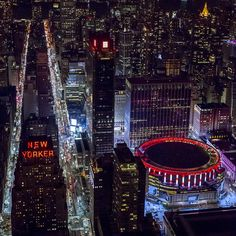 Hotel New Yorker y Madison Square Garden