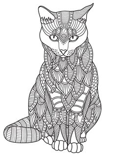 Cats To Color