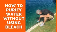 How to purify questionable drinking water - without using bleach Filter Bottle, Water Filter, Drinking Hot Water, Filtered Water Bottle, How To Make Fire, American Heart Association, Emergency Supplies, Skill Training, Emergency Response