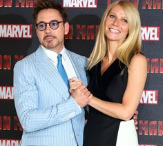 When they hold hands: | Robert Downey Jr. And Gwyneth Paltrow's Most Adorable Moments
