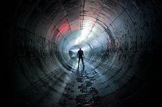 Sci-fi-style photo [River Tyburn, City of London, United Kingdom - Photographer Bradley Garrett] City Of London, Abandoned Buildings, Abandoned Places, London United Kingdom, The Shard, Urban Exploration, New Perspective, Color Photography, Urban Photography