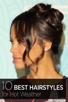 Classic french twist (using bobbi pins) and wispy, wavy beachy strands to frame the face. Hairdo For Long Hair, Prom Hairstyles For Long Hair, Prom Hair Updo, Hair Dos, Cool Hairstyles, Easy Hair, Summer Hairstyles, Wedding Hairstyles, Zoe Saldana