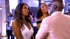 Season 8 Episode 1 Show Highlight: Things don't go so well when Peter Thomas brings up the infamous video with Kenya Moore.