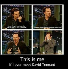 Benedict Cumberbatch on his meeting of Harrison Ford. Haha probably exactly what I would say if I ever met Benedict Cumberbatch or Harrison Ford. Benedict Cumberbatch Sherlock, Sherlock Holmes, Sherlock Cast, Sherlock Fandom, Sherlock Quotes, The Maxx, Harrison Ford, Oui Oui, Johnlock
