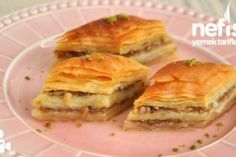 Magnificent Hand Trimmed Baklava from Mom - Yummy Recipes, Dessert recipes Yummy Recipes, Dessert Recipes, Yummy Food, Turkish Recipes, Ethnic Recipes, Walnut Recipes, Food Articles, Homemade Beauty Products, Spanakopita