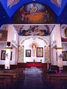 The interior of a church in #Huatulco Mexico! #DreamsResorts
