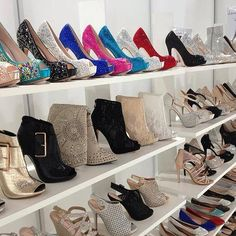 Dream shoe closet. Some day...