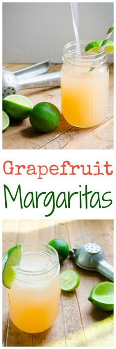 Grapefruit Margarita - A little sweet, a little tart, and altogether way too smooth!  Goes down so easy in the warm weather, or takes you on a virtual vacation on a rainy day!