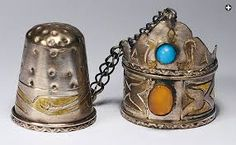 antique thimbles - Google Search