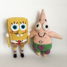 I made this SpongeBob for my 6-year-old son, who is a HUGE fan of the show. My sister had made Patrick years ago for my other son and it…