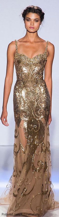 Zuhair Murad Haute Couture | Spring 2013 If I ever go to the Tony's, Oscars, or Emmy's-- Gorgeous dress!