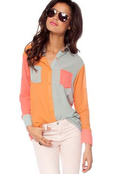 colorful blouse.