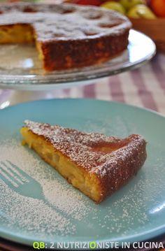 Q B Le ricette light: Torta di pere senza grassi aggiunti