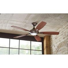 Fans On Pinterest Ceiling Fans Ceiling Fans With Lights And Brushed Nickel Ceiling Fan