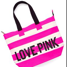 VS Pink tote.  Oh yes I do.   # Pinterest++ for iPad #