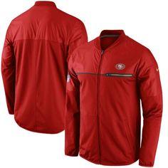 San Francisco 49ers Nike Elite Hybrid Performance Jacket - Scarlet 25003ffaa