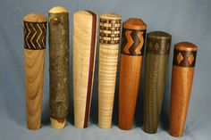 Custom Beer Tap Handles For Jason - 8 Maple Taps, 5.5-inch, washed to resemble driftwood