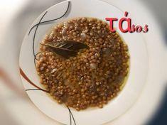 """Κόκκινες φακές σε σούπα, μία """"άγνωστη"""" νοστιμιά!!! συνταγή από ggr - Cookpad Doughnut, Desserts, Food, Postres, Deserts, Hoods, Meals, Dessert, Food Deserts"""