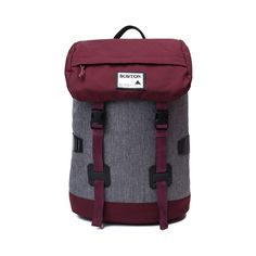 Shop for Burton Tinder Backpack in Gray Red at Journeys Shoes.