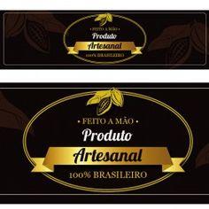 Rótulo Adesivo Chocolate - Produto Artesanal 10 un