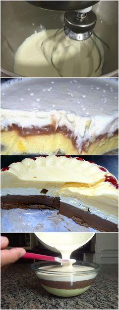 TODOS FICAM DE ÁGUA NA BOCA ESSA RECEITA,FÁCIL E ECONOMIZA MUITO!! VEJA AQUI>>>Misture o leite e a maizena, mexa até dissolver Misture aos outros ingredientes e leve ao fogo até formar um creme como um mingau #receita#bolo#torta#doce#sobremesa#aniversario#pudim#mousse#pave#Cheesecake#chocolate#confeitaria