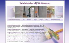 WordPress website Schildersbedrijf Holterman
