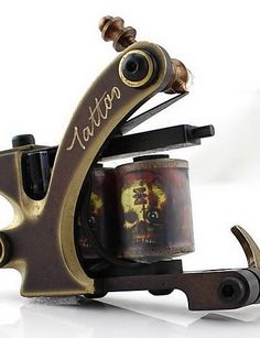 Brass Wire-cutting High Quality Engraving Tattoo Machine of Shader -- Check out the image by visiting the link.