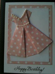 Origami dress More