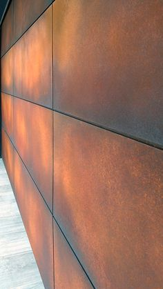 How Cor Ten Weathering Steel Protective Patina Surface