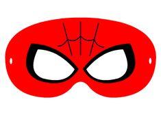 Maski do druku super bohater Spiderman. Masks to print super hero Spiderman.