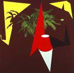 Patrick Caulfield, Room 1995 Acrylic on canvas 193 x 193 cm James Rosenquist, Modern Art, Contemporary Art, Claes Oldenburg, Pop Art Movement, Jasper Johns, Roy Lichtenstein, Unusual Art, Photorealism