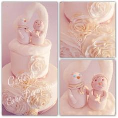 #rufflecake #Weddingcake #cake #christmascake Ruffle Cake, Wedding Cakes, Pies, Weddings, Wedding Gown Cakes, Diaper Bouquet, Cake Wedding, Wedding Cake, Wedding Pies