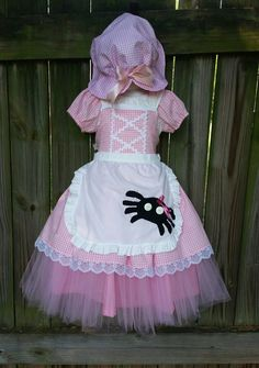 Hey, I found this really awesome Etsy listing at https://www.etsy.com/listing/465056252/little-miss-muffet-4-pc-dress-set-23-45t