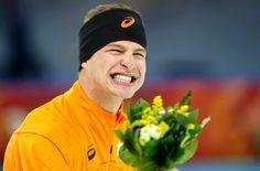 Sven Kramer reacts at the 2014 Sochi Winter Olympic Games. Winter Olympic Games, Winter Olympics, Sven Kramer, Olympic Athletes, Olympians, Sports, Men, Dutch, Washington