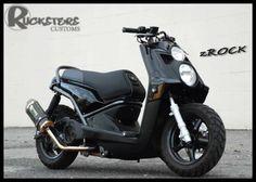 Custom Yamaha Zuma 125