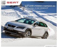 Pełna kontrola na każdej drodze tylko z napędem 4x4 i #SEAT-em #Leon #Xperience