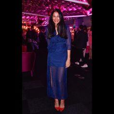 "Designer Saloni Lodha ""my fav look from Pre Fall16"" wears the Jennifer dress at @nakedheartfoundation #Fundfair. Shop it Now > salonilondon.com"