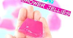diy lush shower jellies, alternative for gelatin, shower jellies tutorial, bath jellies at home