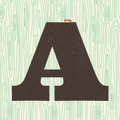 A is for Ant by Wallace Design House