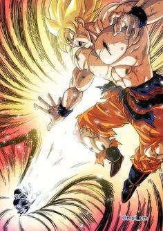 Dragon Ball Gt, Ssj2, Akira, Goku Vs Frieza, Z Warriors, Z Arts, Anime Comics, Illustrations, Anime Art