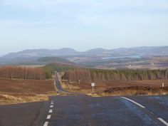 Road From Suidhe Viewpoint Towards Whitebridge